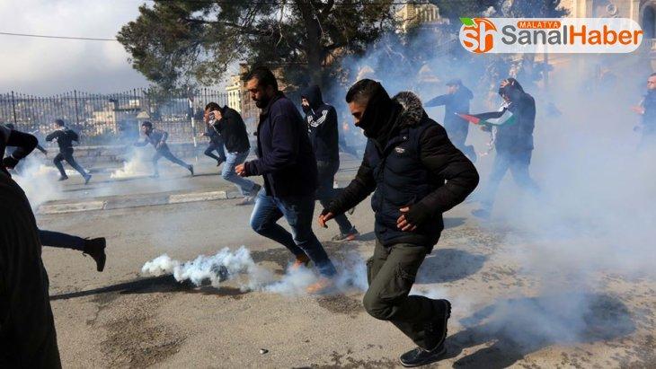 Batı Şeria'da 'Yüzyılın Anlaşması' protesto edildi