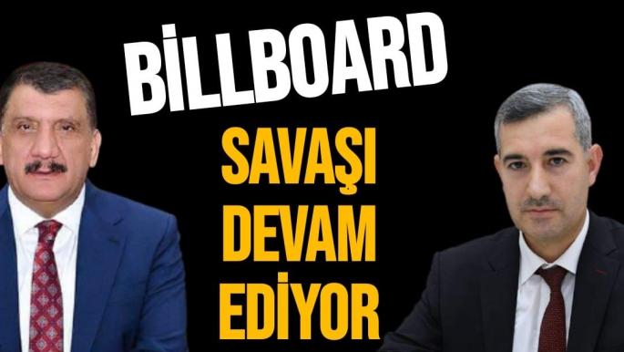 Billboard savaşı devam ediyor