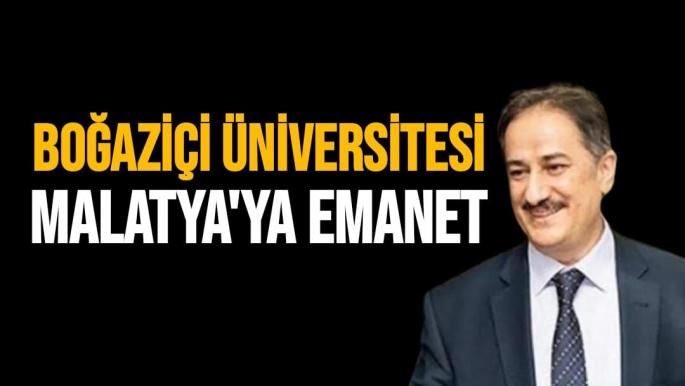 Boğaziçi Üniversitesi Malatya'ya Emanet