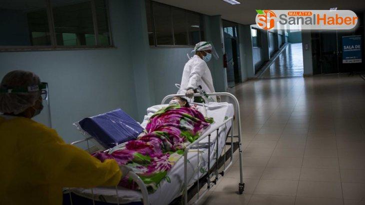 Brezilya'da son 24 saatte bin 349 ölümle yeni rekor
