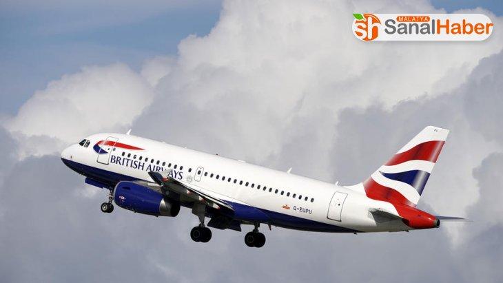 British Airways, Çin'e uçuşları askıya aldı
