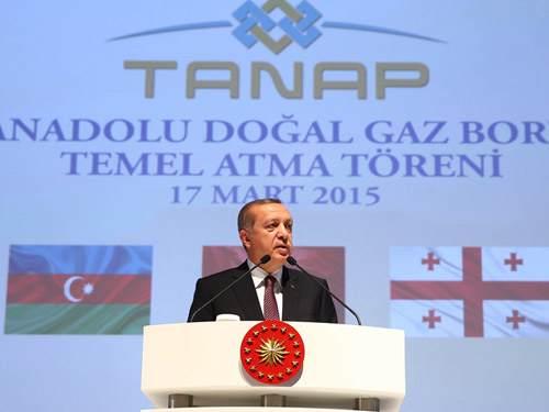 """""""TANAP; Barış, Huzur ve Refah ile Birlikte Zikredilecek Bir Projedir"""""""
