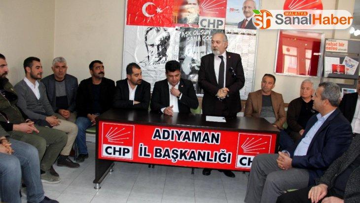 CHP, Kahta Devlet Hastanesi'ndeki iddiaları gündeme taşıdı
