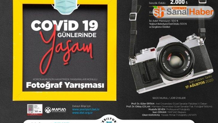 Covid-19 günlerinde yaşam konulu fotoğraf yarışması