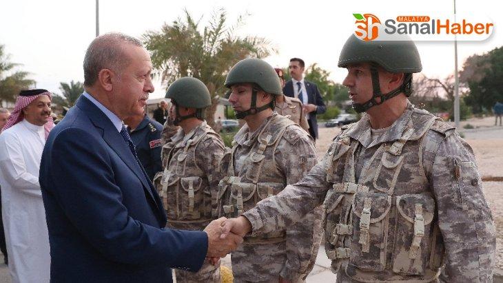 Cumhurbaşkanı Erdoğan: 'Bu üssün kapatılmasını talep edenler ülkemizin, Katar'ın kara gün dostu olduğunu hala idrak edemeyenlerdir'
