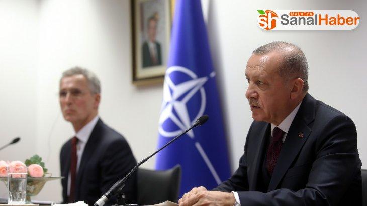 Cumhurbaşkanı Erdoğan: 'NATO ittifak dayanışmasını göstermesi gereken kritik bir dönemin içinde'