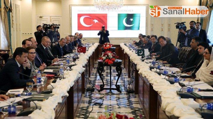Cumhurbaşkanı Erdoğan, Yüksek Düzeyli Stratejik İşbirliği Toplantısı'na katıldı
