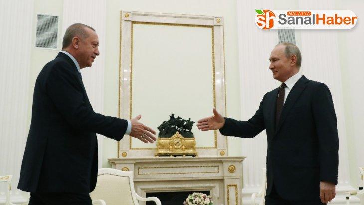Cumhurbaşkanı Recep Tayyip Erdoğan, 'Buradan atacağımız adım alacağımız isabetli kararla bölgeyi de ülkelerimizi de rahatlatacaktır' dedi.