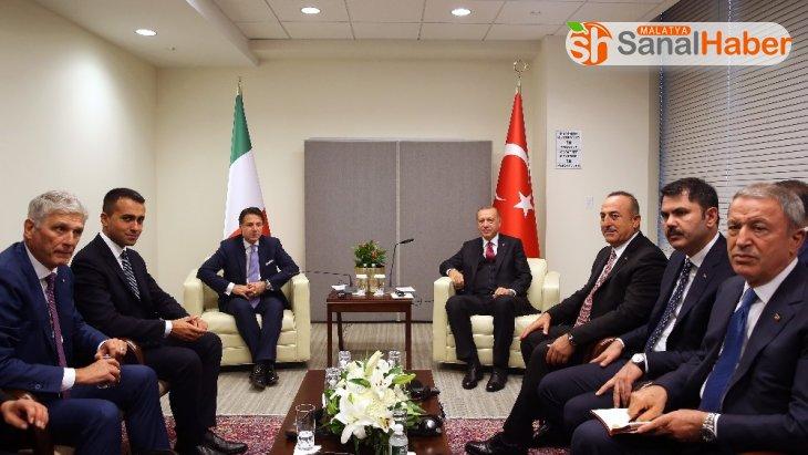 Cumhurbaşkanı Recep Tayyip Erdoğan, İtalya Başbakanı Giuseppe Conte ile görüştü