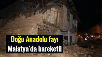 Doğu Anadolu fayı Malatya'da hareketli