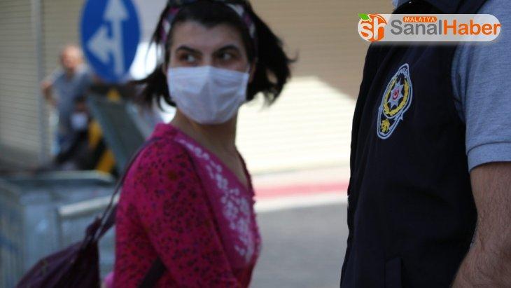Elazığ'da maske takmayana 800 TL ceza