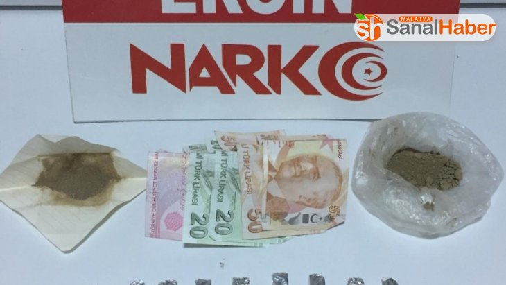 Elazığ'da satışa hazır paketlerde eroin ele geçirildi