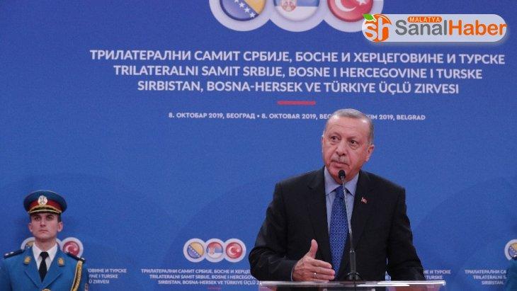 Erdoğan: 'Saraybosna-Belgrad otoyolu bölgeyi çekim alanı haline getirecek'