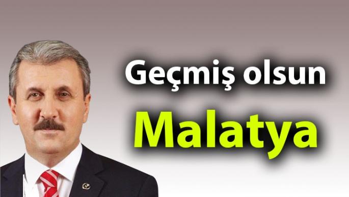 Geçmiş olsun Malatya