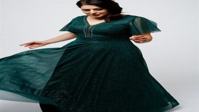 Genç Büyük Beden Abiye Elbise Modelleri