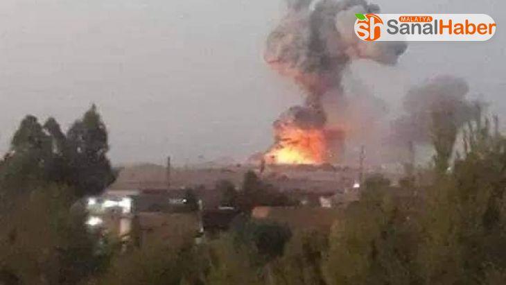 Haseke'de terör örgütünün mühimmat deposunda patlama
