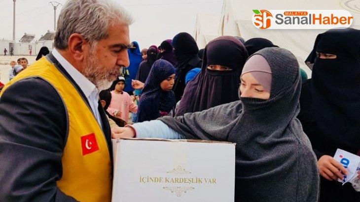 Malatya'dan İdlib'e yardım eli