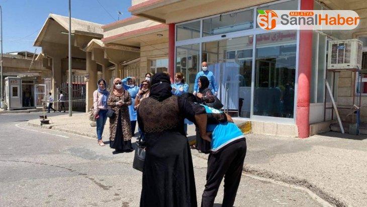 IKBY'de sağlık personelleri grevde