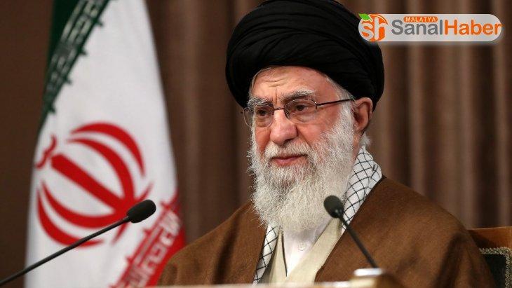 İran dini lideri Hamaney: 'Siyonist İsrail virüsünün kökünü kazıyacağız'