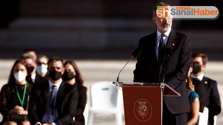 İspanya'da Covid-19'dan hayatını kaybedenler devlet töreniyle anıldı