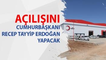 Açılışını Cumhurbaşkanı Recep Tayyip Erdoğan yapacak