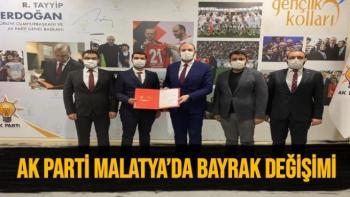 Ak Parti Malatya'da Bayrak Değişimi