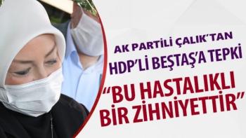 AK Partili Çalık'tan HDP'li Beştaş'a tepki