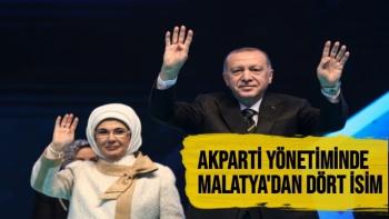 AK PARTİ yönetiminde Malatya'dan Dört İsim