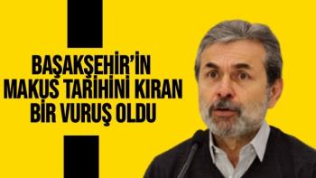 Başakşehir'in makus tarihini kıran bir vuruş oldu