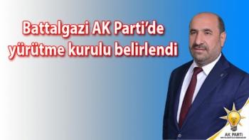 Battalgazi AK Parti'de yürütme kurulu belirlendi