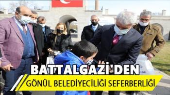 Battalgazi'den gönül belediyeciliği seferberliği