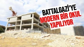 Battalgazi'ye modern bir okul yapılıyor