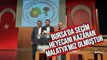 Bursa'da Seçim Heyecanı Kazanan Malatya'mız olmuştur
