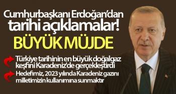 Cumhurbaşkanı Recep Tayyip Erdoğan'dan müjde