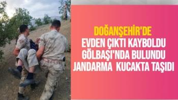 Doğanşehir'de evden çıktı kayboldu Gölbaşı'nda bulundu