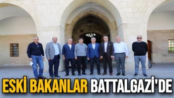 Eski Bakanlar Battalgazi'de