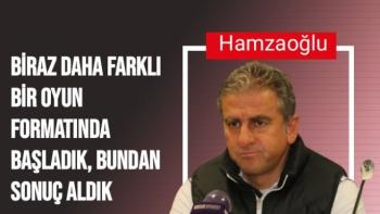 Hamza Hamzaoğlu'nun Çaykur Rizespor maçı sonrası açıklamaları