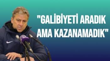 Hamza Hamzaoğlu'nun Sivasspor maçı sonrası açıklamaları