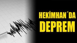 Hekimhan´da deprem