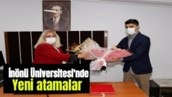 İnönü Üniversitesinde yeni atamalar