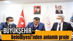 Malatya Büyükşehir Belediyesi´nden anlamlı proje
