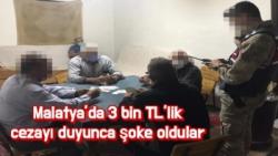 Malatya'da 3 bin TL´lik cezayı duyunca şoke oldular
