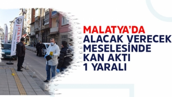 Malatya'da Alacak verecek meselesinde kan aktı