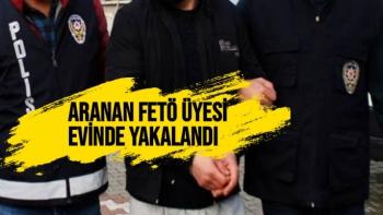 Malatya'da Aranan FETÖ üyesi evinde yakalandı