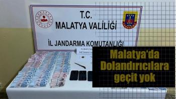 Malatya'da Dolandırıcılara geçit yok