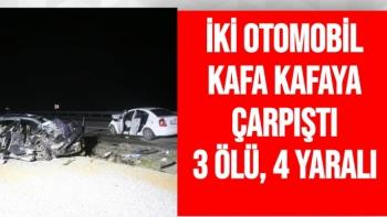 Malatya'da Feci Kaza 3 Ölü 4 Yaralı
