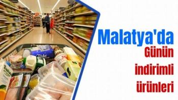 Malatya'da Günün İndirimli Ürünleri