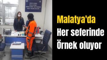 Malatya'da her seferinde örnek oluyor
