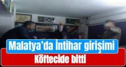 Malatya'da İntihar girişimi köftecide bitti