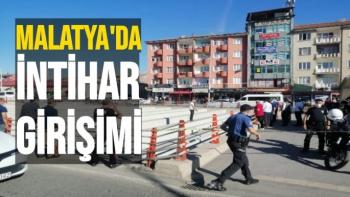 Malatya'da İntihar girişimini emniyet müdürü engelledi